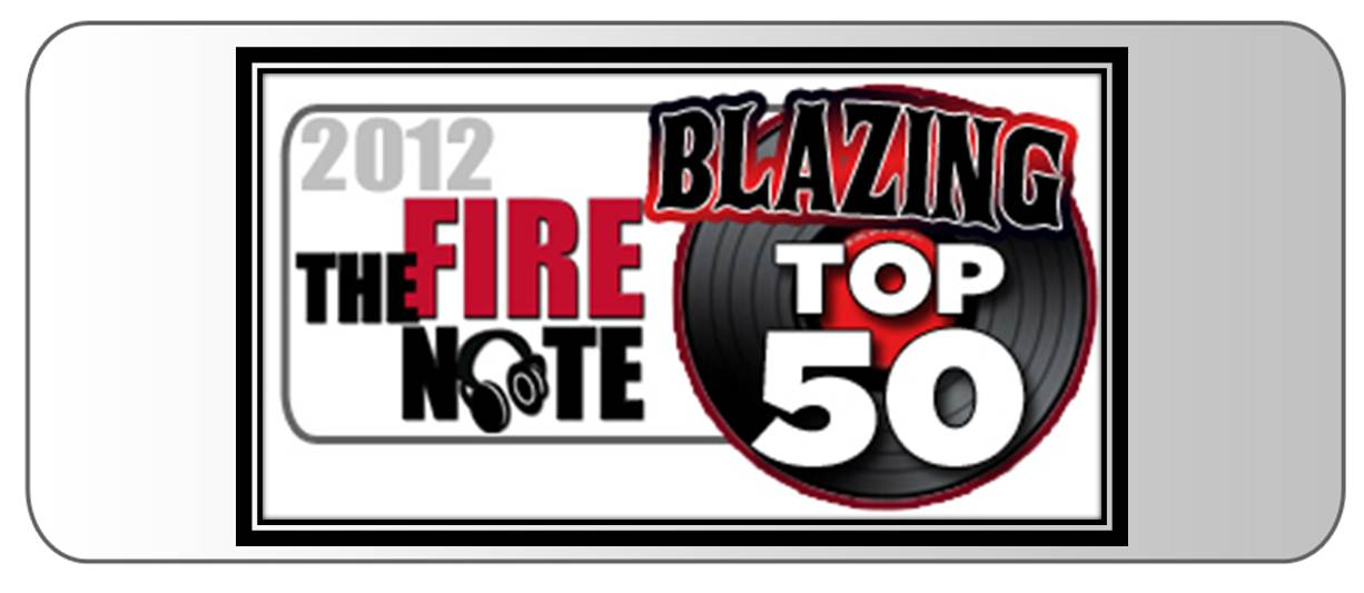 The Blazing Top 50 Albums of 2012