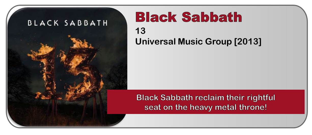 Black Sabbath: 13 [Album Review]