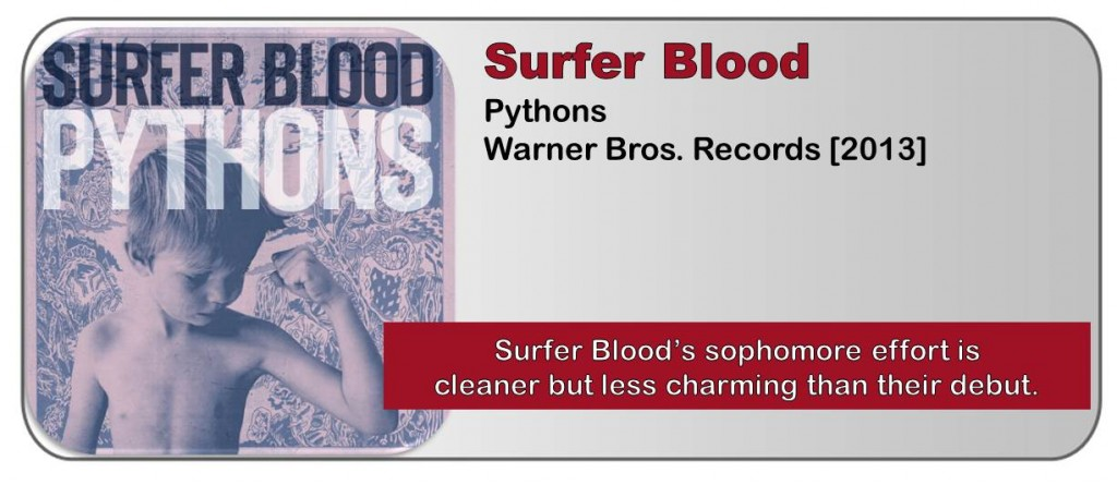 Surfer Blood Pythons Album Review The Fire Note