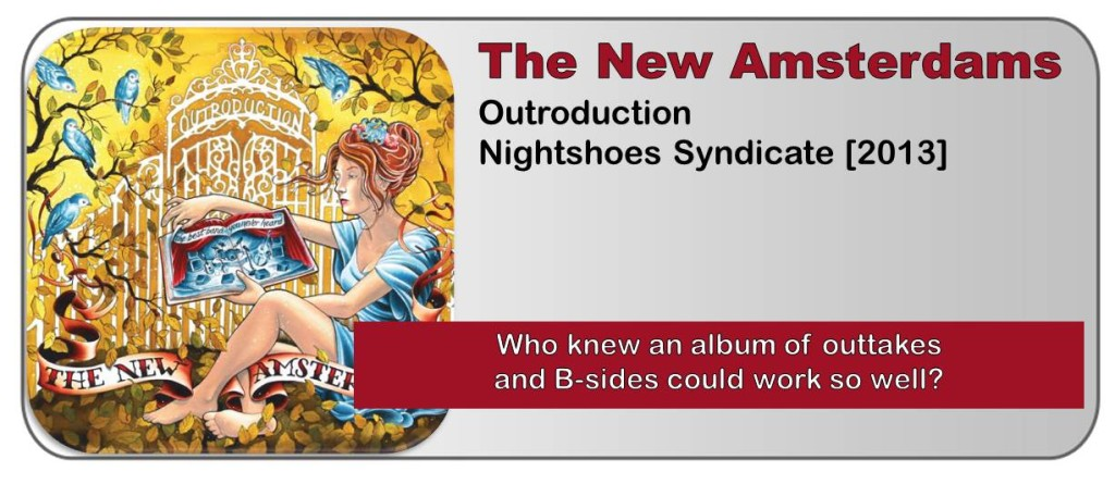 The New Amsterdams Outroduction Album Review The Fire