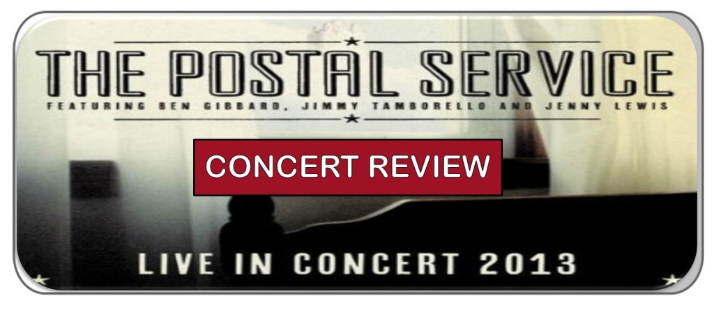 The Postal Service Give Up 10th Anniversary Reunion Tour
