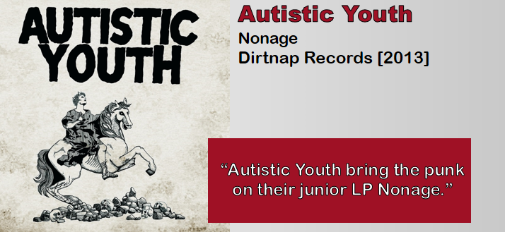 Autistic Youth: Nonage [Album Review]