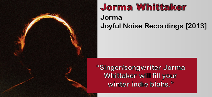Jorma Whittaker: Jorma [Album Review]