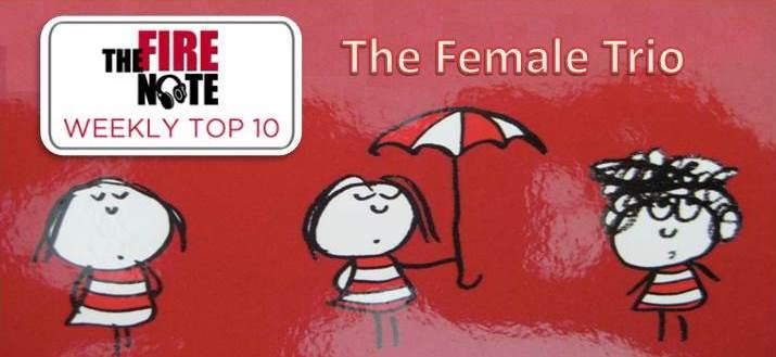 top 10 female trio
