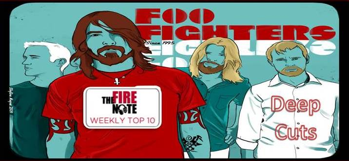 top 10 foo fighters