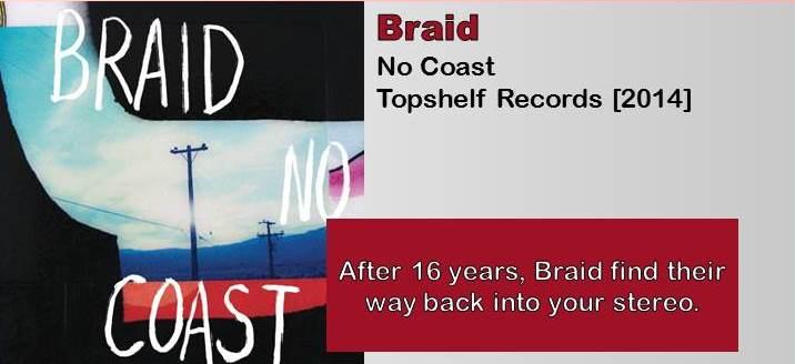 Braid: No Coast [Album Review]
