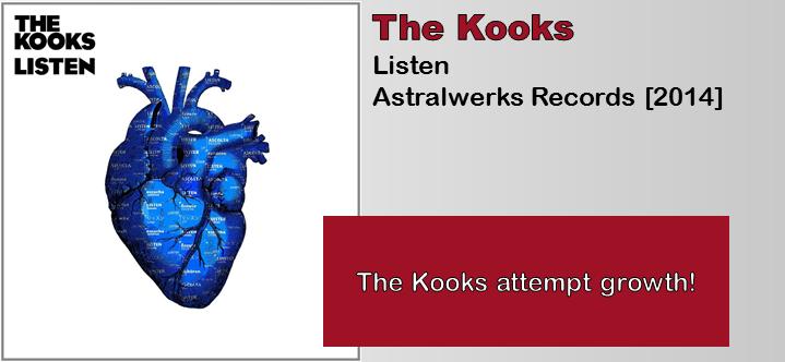 The Kooks: Listen [Album Review]