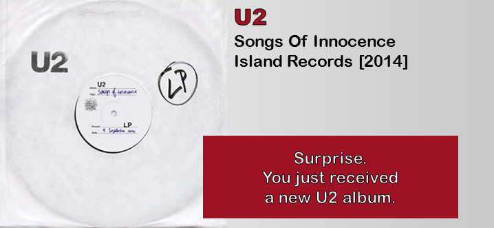 an analysis of the marketing strategy of songs of innocence an album by u2