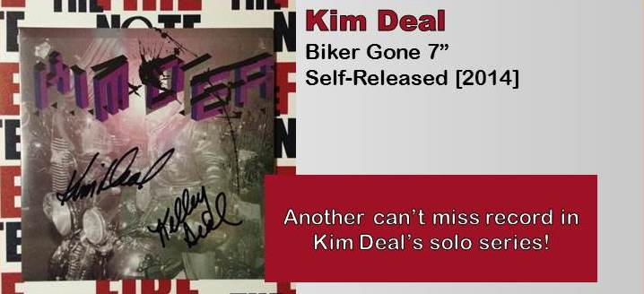 kim deal biker