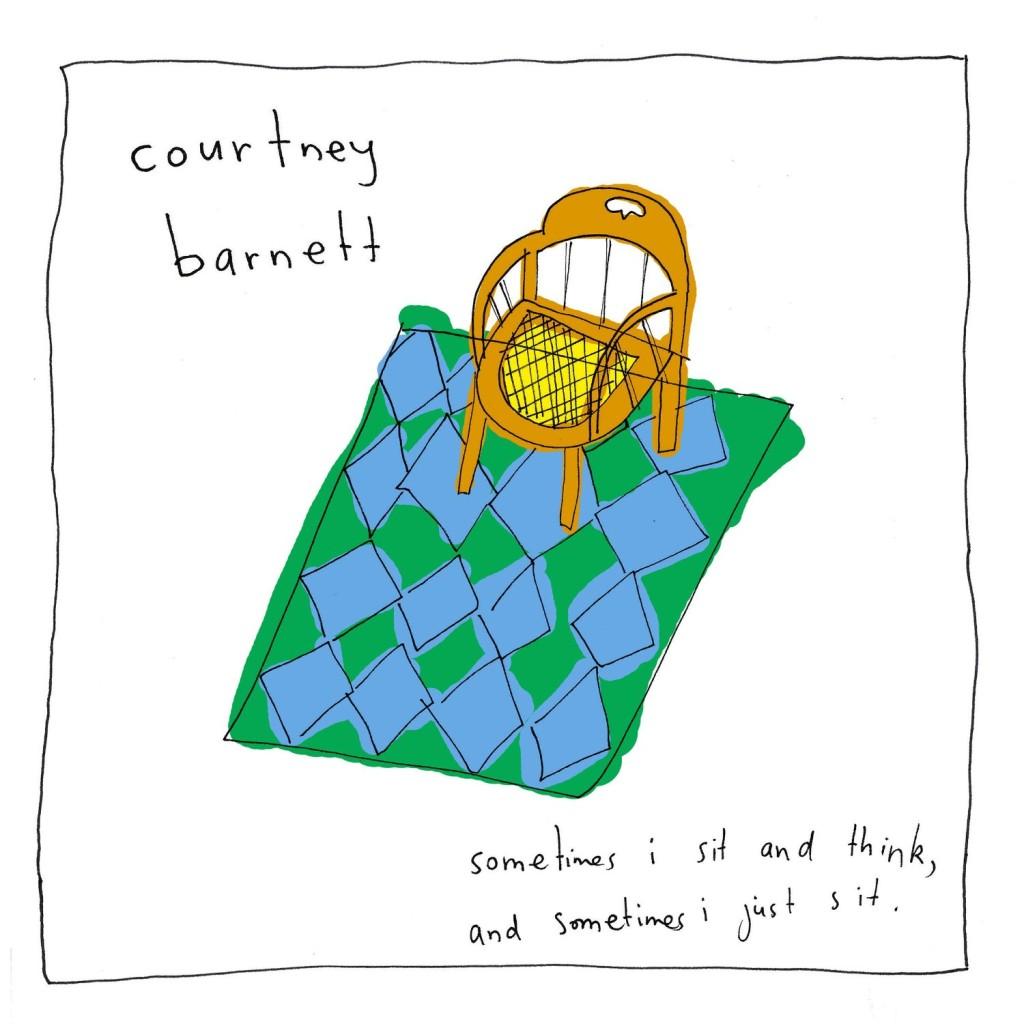 courtney-barnett-sometimes-I-sit-think