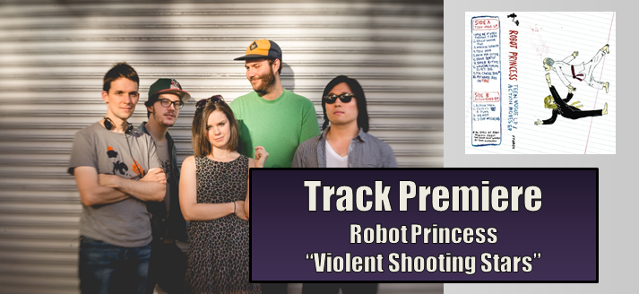track premiere robot princess