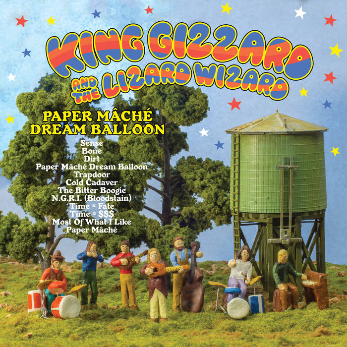 King Gizzard & Lizard Wizard: Paper Mâché Dream Balloon / 1000 Tri-Color Vinyl