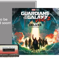 Guardians of the Galaxy Vol. 2 Limited DME Exclusive LP Bundle