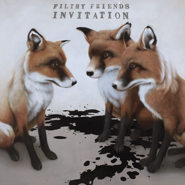 Filthy friends invitation album review the fire note invitation kill rock stars 2017 stopboris Gallery