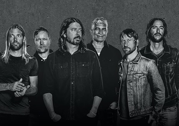 Foo Fighters Concrete And Gold Album Review The Fire Note