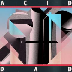 Acid Dad: Acid Dad (Electric Blue & Pink Vinyl w/ Aqua Blue Splatter LP | 200 Copies)