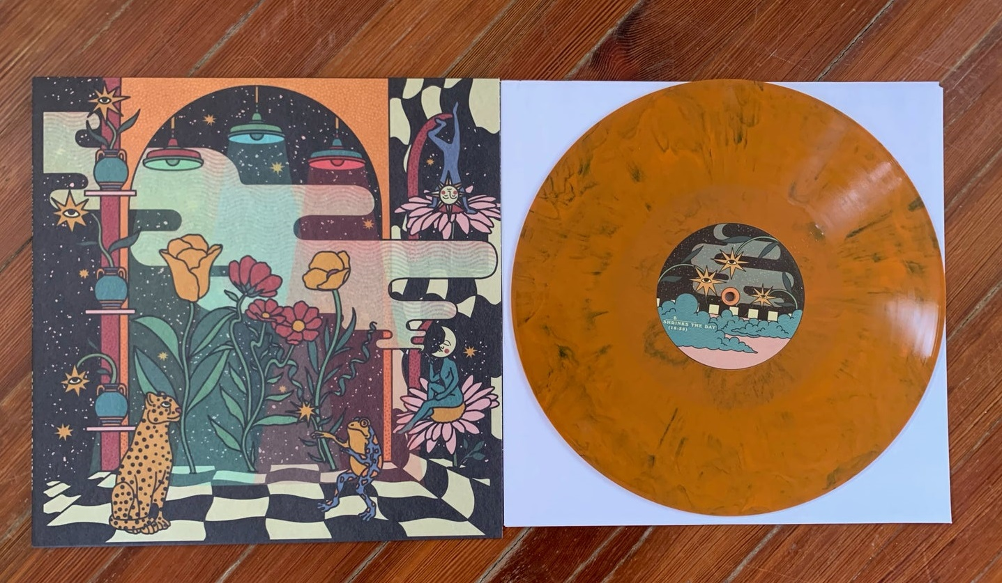 Kikagaku Moyo + Ryley Walker: Deep Fried Grandeur (Orange Wax | 450 Copies)